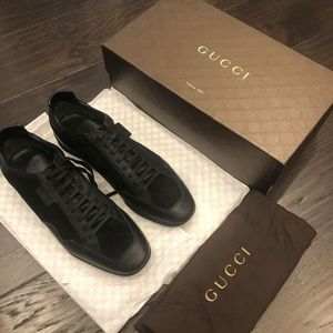 BNWT Mens Leather Gucci Sneakers Size 10.5